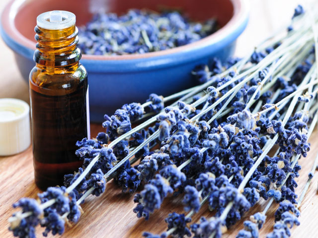 how lavender makes cleaning the windows