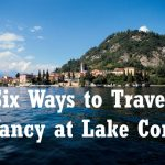 Travel fancy at Lake Como