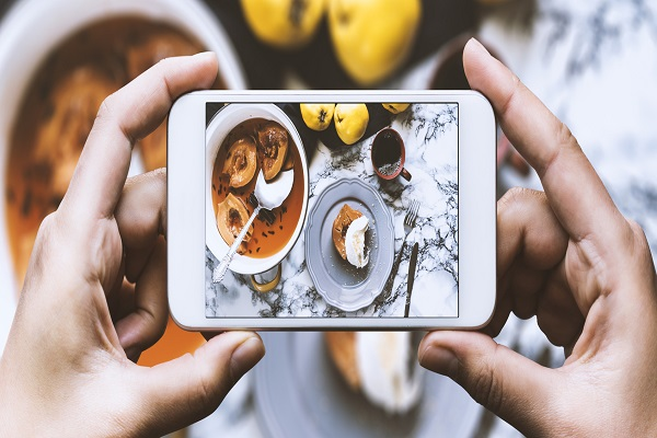 food items and dishes on Instagram