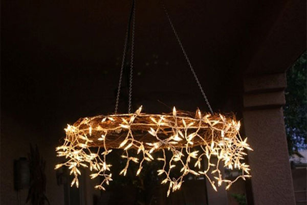 Chandelier with Led Light