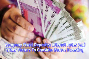 Company Fixed Deposits